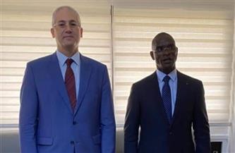 سفيرمصر في أبيدجان يلتقي وزير الداخلية والأمن الداخلي الإيفواري