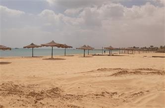 متابعة مستمرة لغلق الشواطئ ورفع درجة الاستعداد بمطروح في العيد