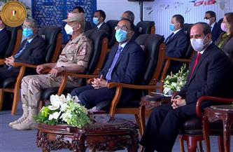 الرئيس السيسي يشهد افتتاح عدد من مشروعات تطوير قناة السويس عبر الفيديو كونفرانس