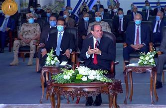 الرئيس السيسي: تطوير قناة السويس بما يتلاءم مع نمو حركة التجارة فى العالم