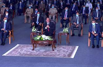 الرئيس السيسي يشيد بدور الدراما فى إبراز تضحيات شهداء الوطن من الجيش والشرطة