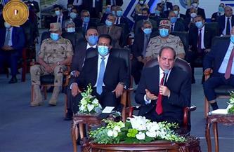 الرئيس السيسي: قلق المصريين من سد النهضة مشروع.. ولن نفرط في حقوقنا المائية