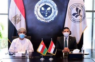 وفد عُماني يزور القاهرة لتعزيز التعاون بين الجانبين في مجالات الاستثمار المختلفة | صور
