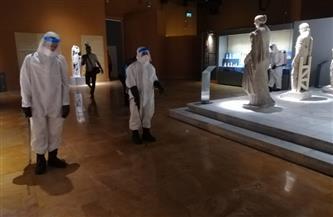 السياحية والآثار تنتهي من أعمال التعقيم الدورية لمتحف شرم الشيخ | صور