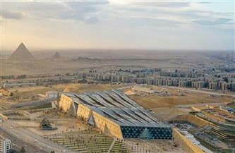 شاهد.. صورة جوية للمتحف المصري الكبير بمنطقة الجيزة عاصمة مصر السياحية الجديدة