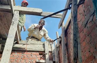 إيقاف أعمال البناء المخالف بعقار بالعامرية غرب الإسكندرية | صور
