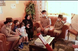 القوات المسلحة تحتفى بأسر الشهداء بمناسبة حلول عيد الفطر المبارك | صور