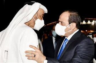 الرئيس السيسي يتلقى اتصالًا هاتفيًا من ولي عهد أبو ظبي للتهنئة بمناسبة قرب حلول عيد الفطر المبارك