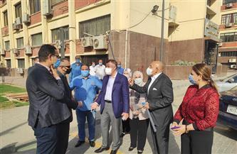 جولة تفقدية لرئيس جامعة عين شمس بكلية الآداب| صور