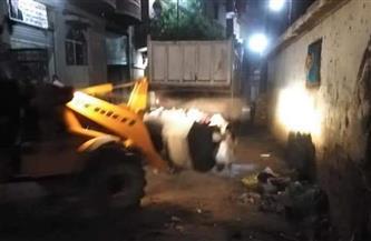 رفع 40 طن مخلفات وقمامة من طرق مركز ساقلتة| صور
