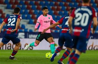 برشلونة يفوت اقتناص صدارة الليجا بالتعادل مع ليفانتي