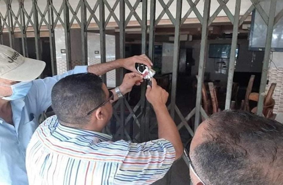 غلق  مقرات للدروس الخصوصية في دمنهور بالبحيرة