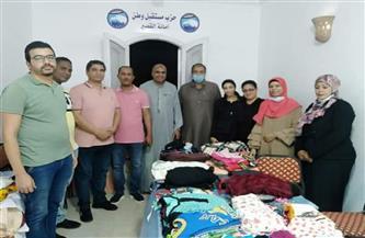 «مستقبل وطن»: توزيع 180 قطعة ملابس في اليوم الثاني لمبادرة «كلنا هنعيد» بالقصير | صور