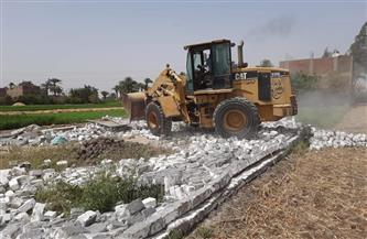 محافظ أسيوط: إزالة تعديات على أراض زراعية بقرية منقباد   صور