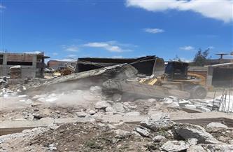 إزالة 7 حالات تعدٍ على أراضي الدولة في 4 مراكز بالبحيرة