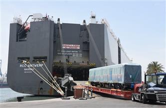 النقل تستقبل دفعة جديدة من قطارات المترو الكورية الجديدة للخطين الثاني والثالث | صور