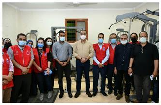 الأنصاري: 115 مركز شباب ومدرسة ضمن مبادرة الفيوم لتسجيل المواطنين للحصول على لقاح كورونا | صور
