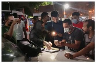 تحرير 11 محضرا لعدم ارتداء كمامة في حملة بالدقي