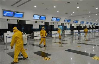 عمليات تعقيم موسعة بجميع المطارات المصرية استعدادا لعطلة عيد الفطر | صور