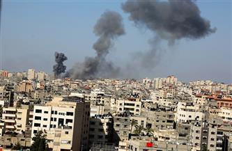استشهاد 3 فلسطينيين في غارة إسرائيلية على مخيم النصيرات
