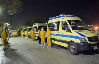 رفع درجة الاستعداد بمرفق إسعاف القاهرة في العيد