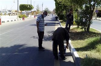 رئيس مدينة الأقصر يشدد على رفع درجة الاستعداد القصوى لإزالة المخلفات |صور