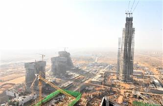 تعرف على نسبة تنفيذ البرج الأيقوني بمنطقة الأعمال المركزية بالعاصمة الإدارية الجديدة|صور
