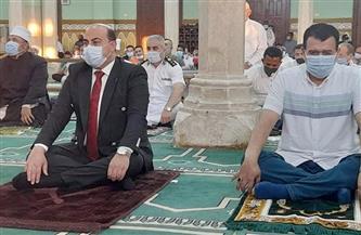 مواطنو أسوان يؤدون صلاة العيد بالمساجد وسط إجراءات احترازية لمجابهة كورونا