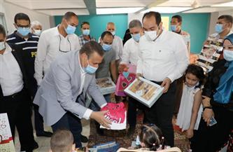 محافـظ المنوفية يوزع «العيدية» على نزلاء مؤسسة الرعاية الاجتماعية بمنوف | صور