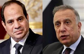 الرئيس السيسي يتلقى اتصالًا من رئيس الوزراء العراقي للتهنئة بمناسبة عيدالفطر المبارك