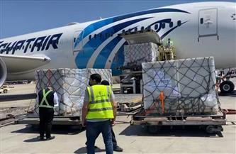 """مطار القاهرة يستقبل شحنة لقاح """"سينوفارم"""" المضاد لفيروس كورونا"""