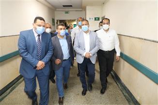 قيادات صحة المنوفية يتفقدون مستشفيات المحافظة لمتابعة سير العمل فى أول أيام عيد الفطر | صور