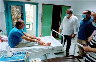 وكيل وزارة الصحة يتفقد مستشفى الغردقة العام أول أيام عيد الفطر| صور
