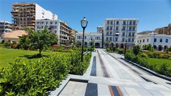 محافظ بورسعيد يتابع  تنفيذ قرار غلق الحدائق والمتنزهات والشواطي في اليوم الأول لعيد الفطر | صور