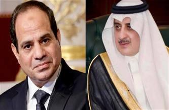 الرئيس السيسي يتلقى اتصالا من أمير منطقة تبوك للتهنئة بمناسبة عيد الفطر المبارك