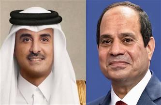 الرئيس السيسي وأمير قطر يتبادلان التهنئة بمناسبة حلول عيد الفطر المبارك