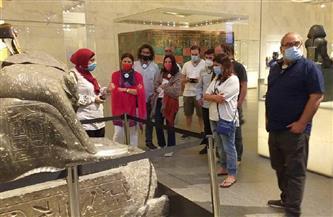 في أول أيام عيد الفطر.. متحف الحضارة يستقبل وفودا سياحية من مختلف دول العالم |صور