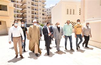 محافظ مطروح يفتتح مسجد العوام بعد تطويره | صور