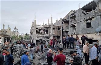 أهالي «بيت حانون» يعيشون ليلة من الجحيم جراء القصف الإسرائيلي في غزة | صور