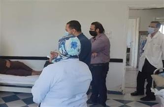 فرق من الإدارات الفنية لمتابعة العمل بمستشفيات البحر الأحمر خلال أيام العيد | صور