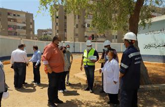جولة ميدانية لرئيس شركة مياه أسيوط لمتابعة انتظام العمل أثناء إجازة العيد | صور