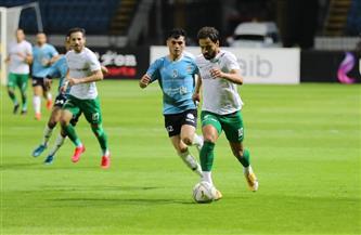 المصري يفوز على غزل المحلة 2-1 في الدوري