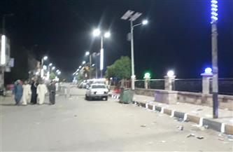 إخلاء مرسى نيل كوم أمبو من المواطنين