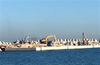 تعرف على مكونات مشروع حماية قلعة قايتباي من أمواج الإسكندرية والنحر بالصخرة الرئيسية| صور