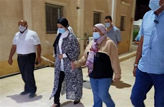 رئيس مدينة سفاجا تتابع الإجراءات الاحترازية بالمستشفى المركزي |صور