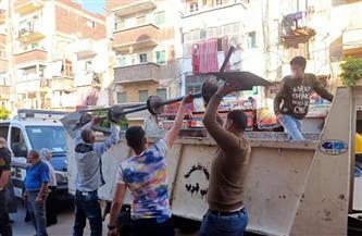 تشكل خطورة على العقار.. إيقاف أعمال هدم حوائط داخلية بصيدلية غرب الإسكندرية | صور