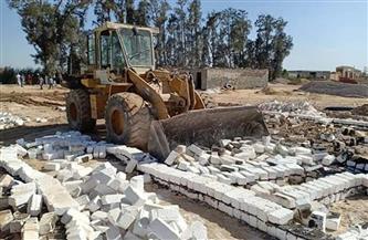 إزالة حالات تعدٍ على أراضي الدولة فى الدلنجات
