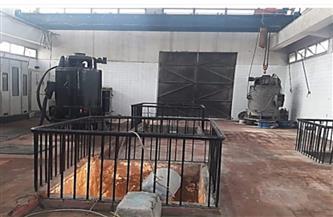 انتهاء صيانة خطوط طرد محطة الصرف الصحي بمدينة المستقبل بالإسماعيلية | صور