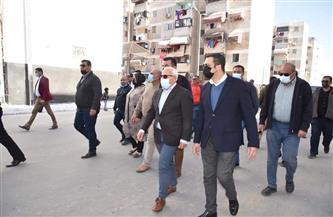 """""""الغضبان"""": ضواحي بورسعيد تشهد أعمال تطوير شاملة للعقارات والطرق"""