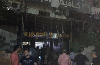 تشميع 4 كافيهات وغلق محلين في حملة ليلية بالعجوزة | صور